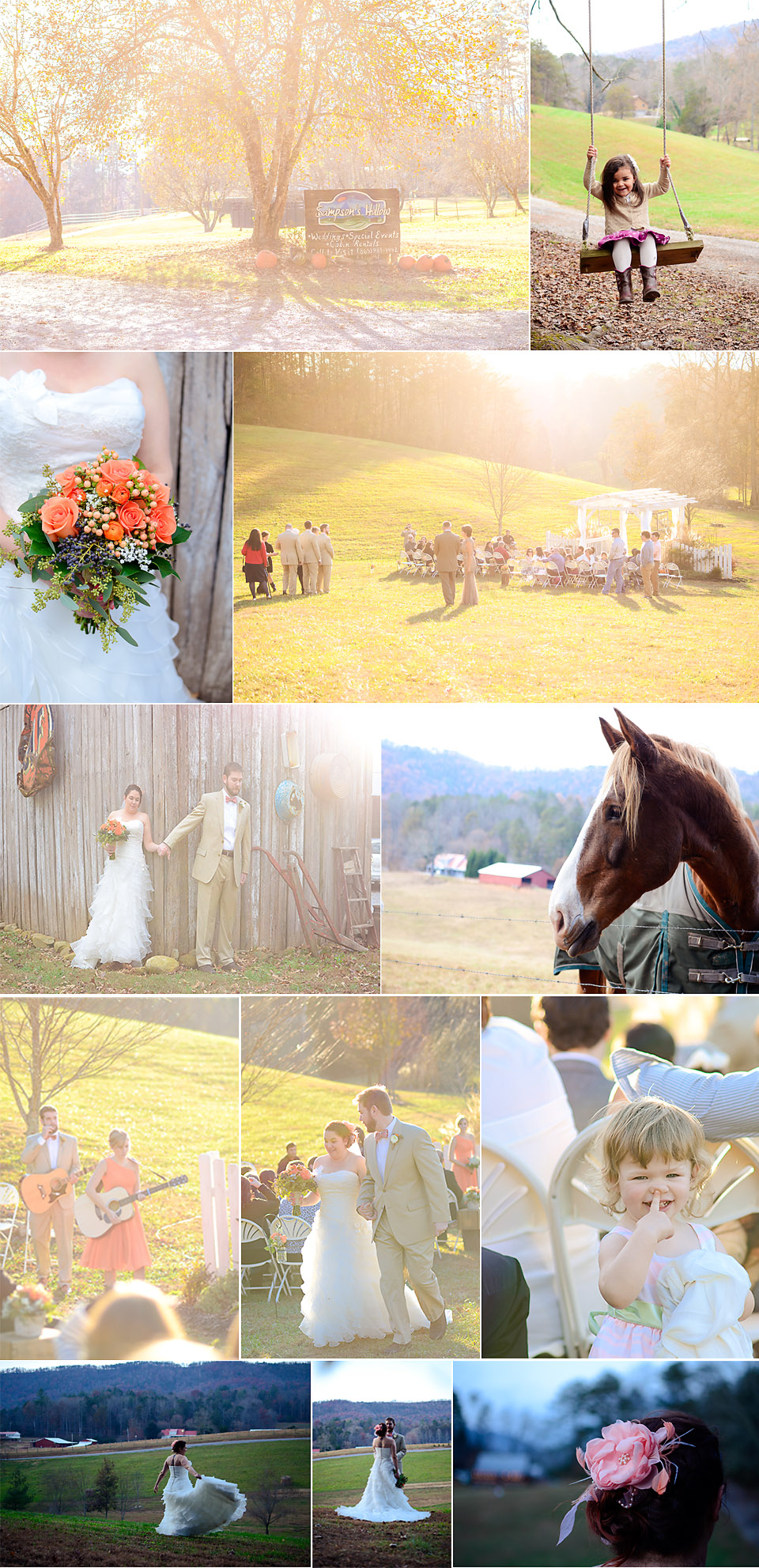 sampsons hollow wedding