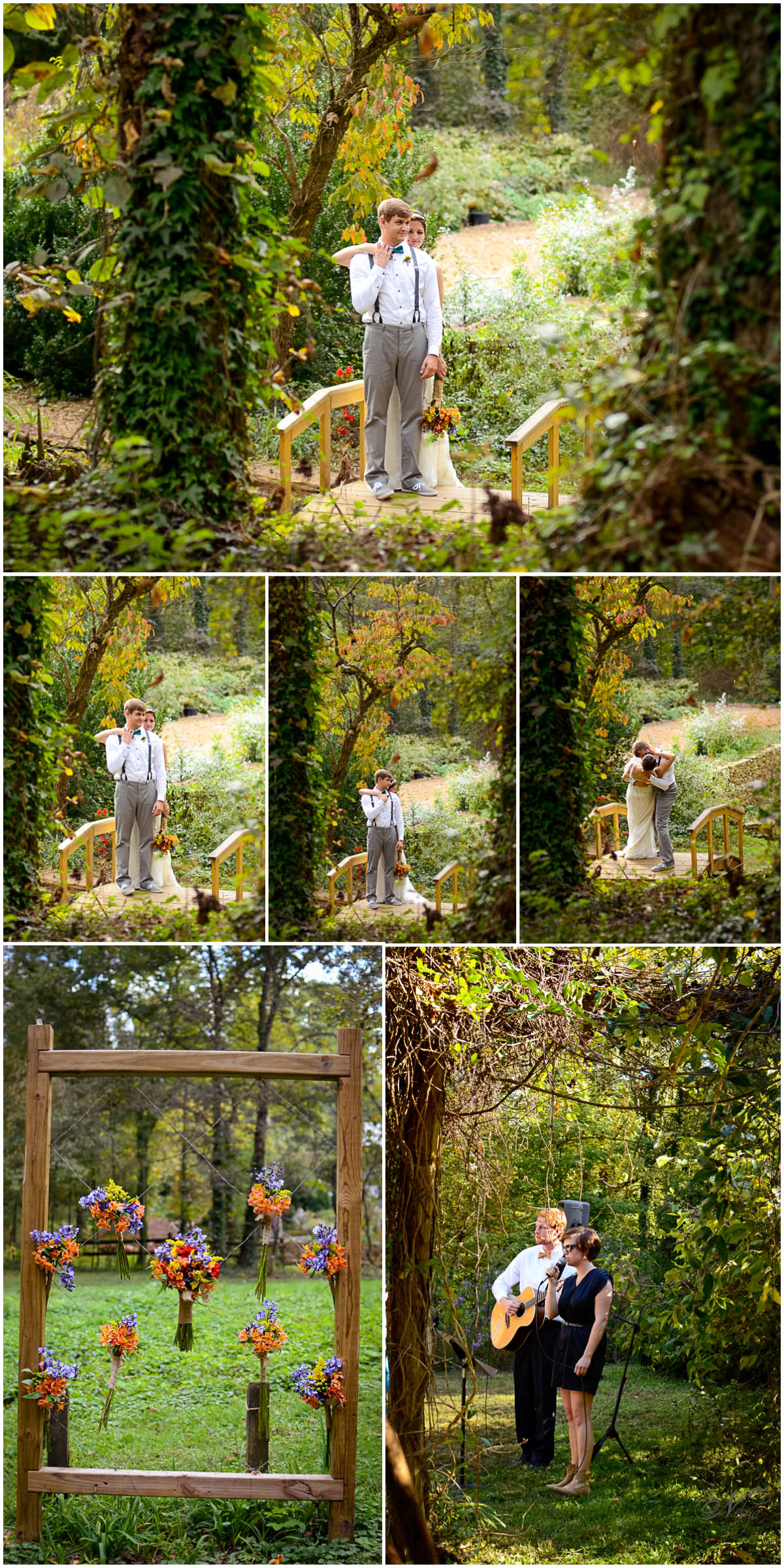 Ijams nature center wedding