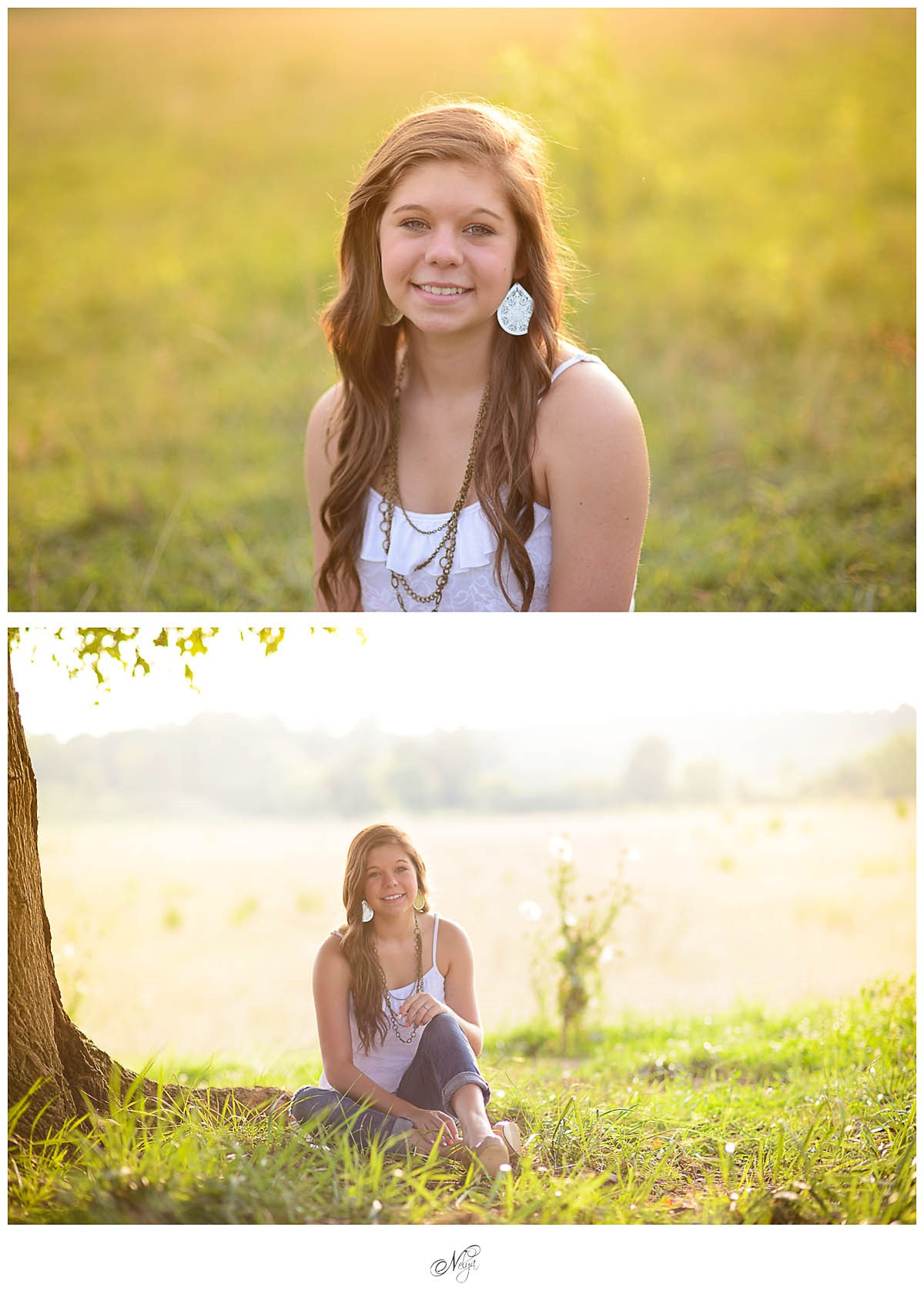 sun-drenched-senior session
