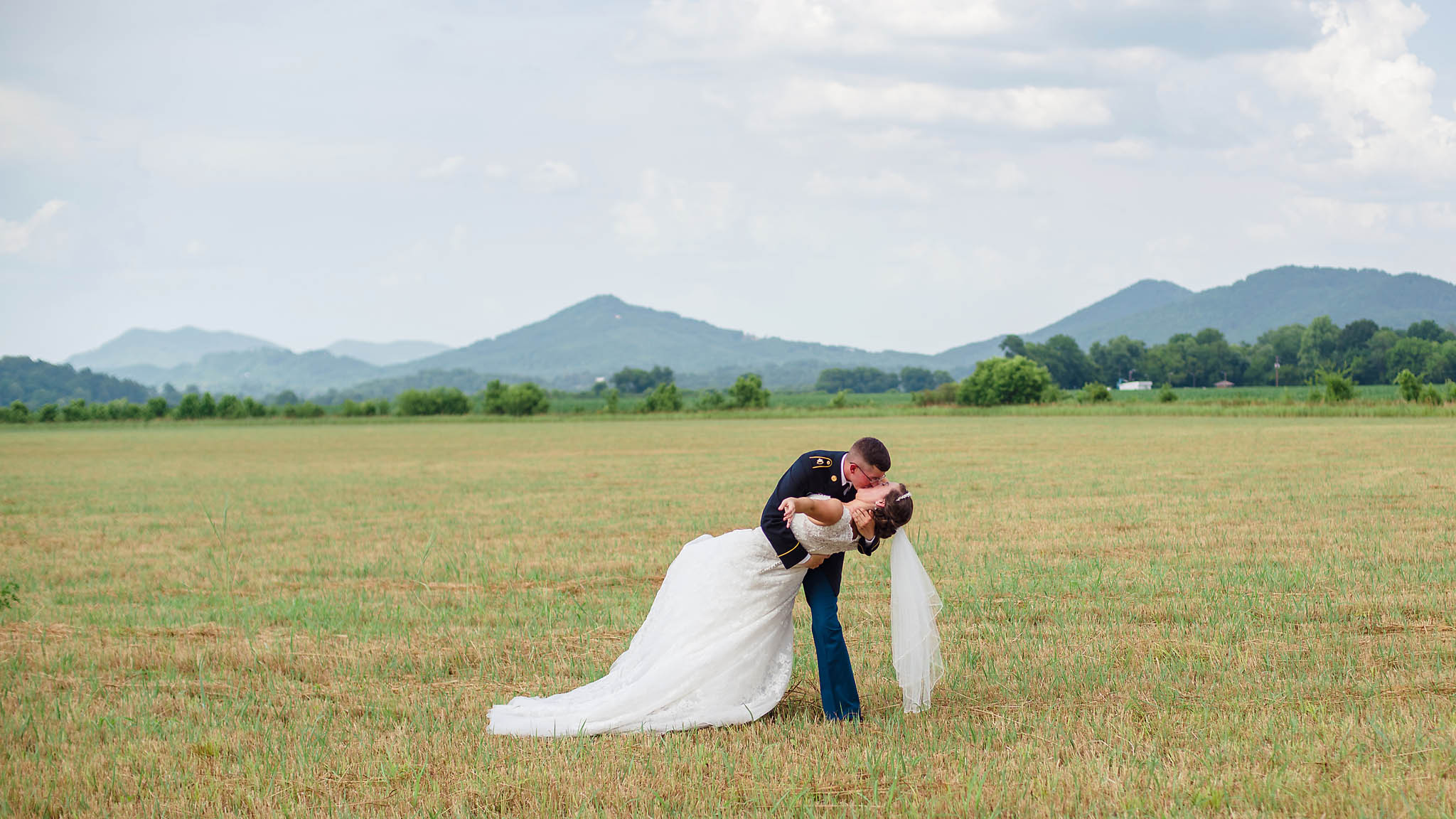 Tellico Plains Community Center Wedding|Linda + Kaleb