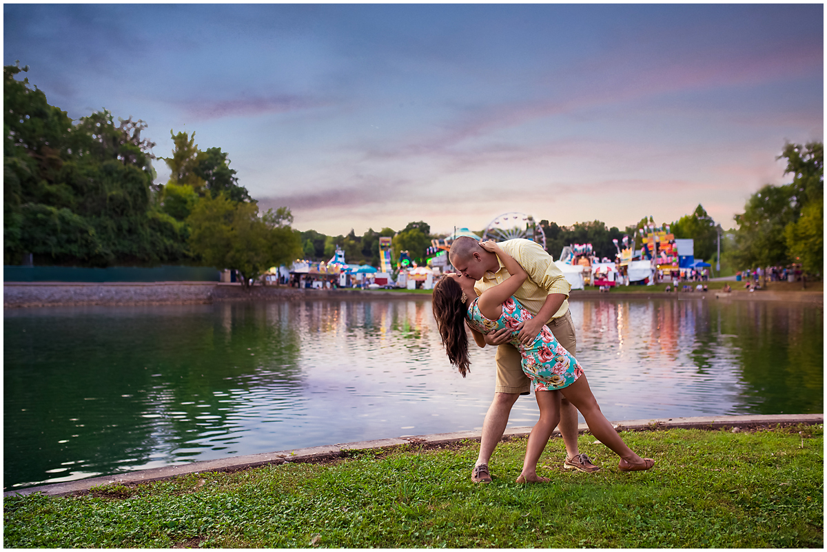 fair themed couples photography