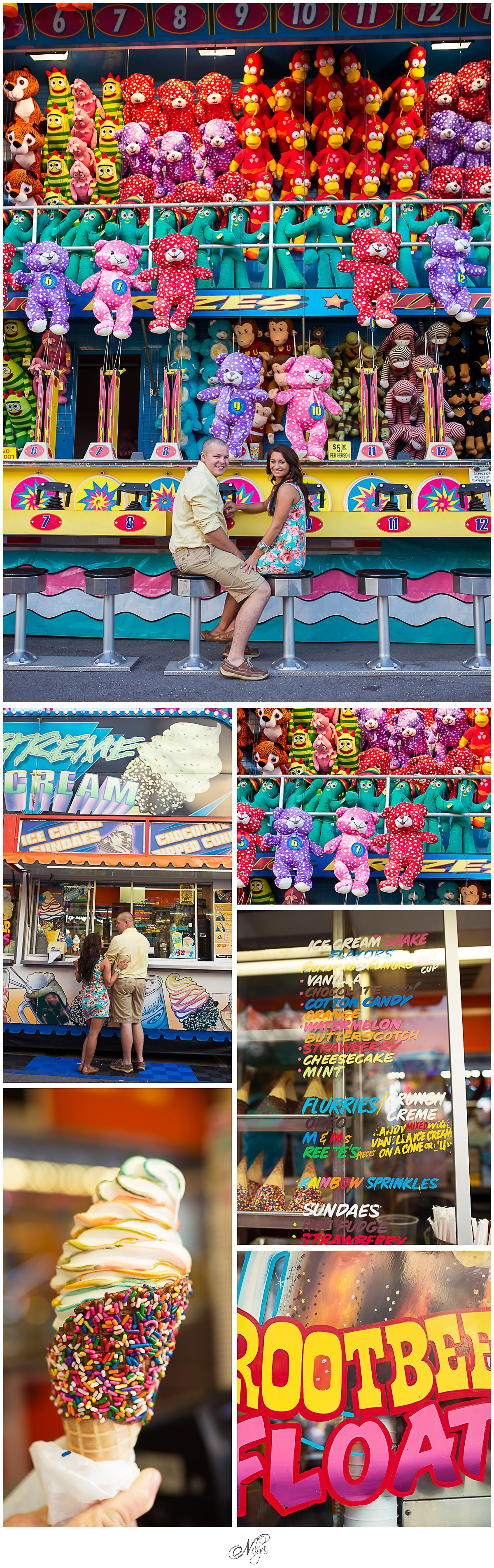 fair couple photos knoxville ice cream copy