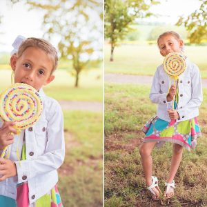 Rainbows and puddles with Mia | Madisonville TN