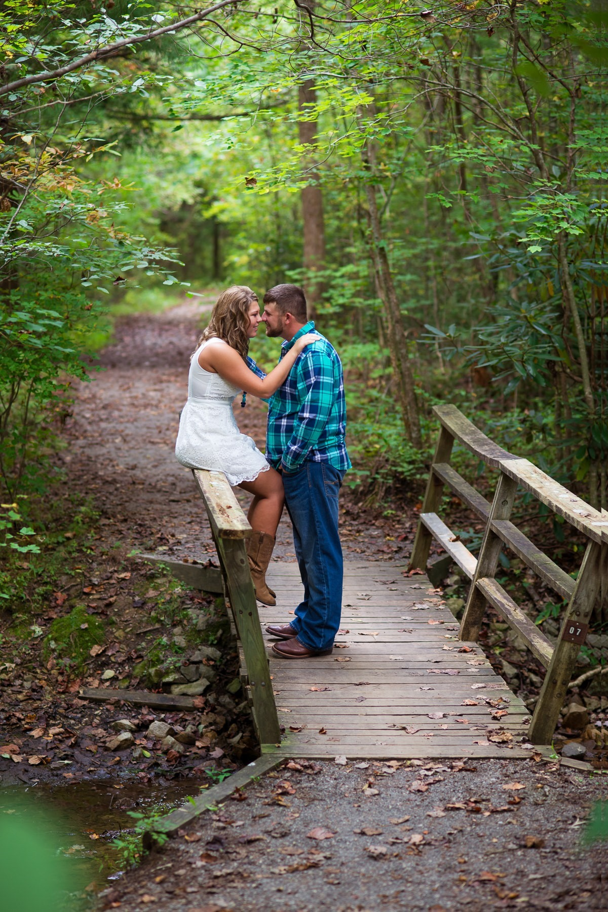 Britney and Ryan {couples session | Indian Boundary TN}