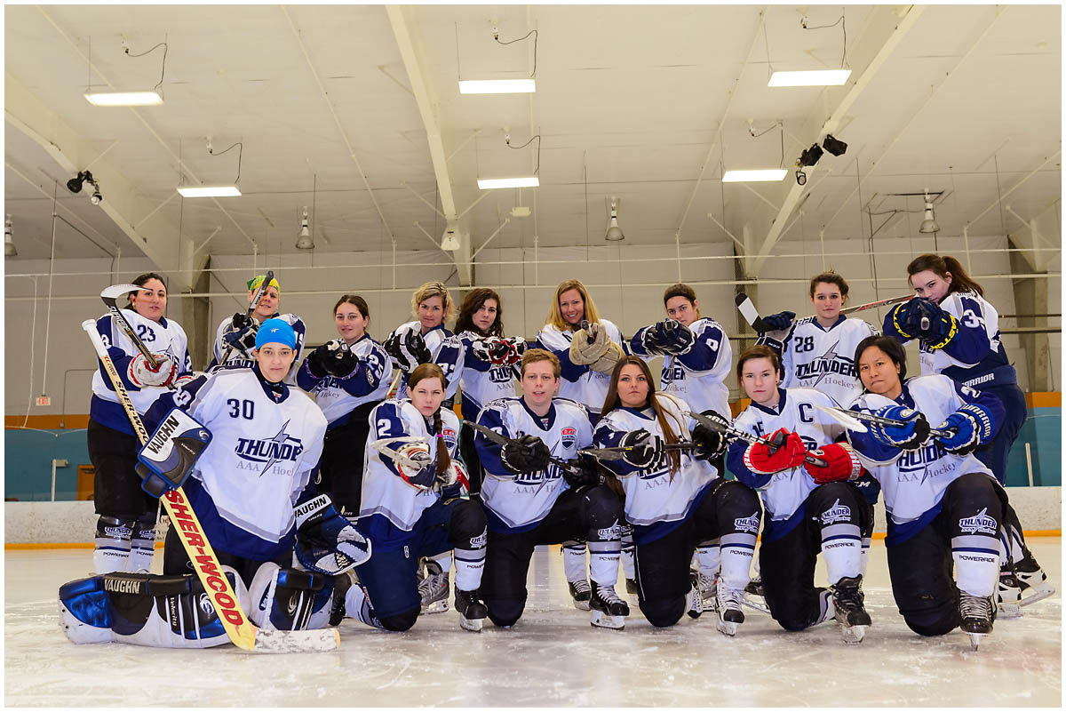 womens ice hockey southern thunder