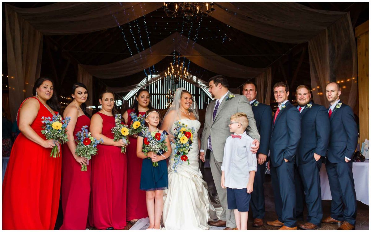 Stinnett Farm Rogersville TN Wedding