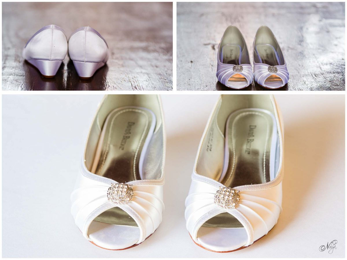 wedding flats at barn wedding in Rogersville TN