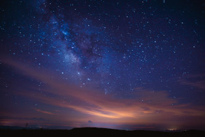 Shooting stars and planet watching