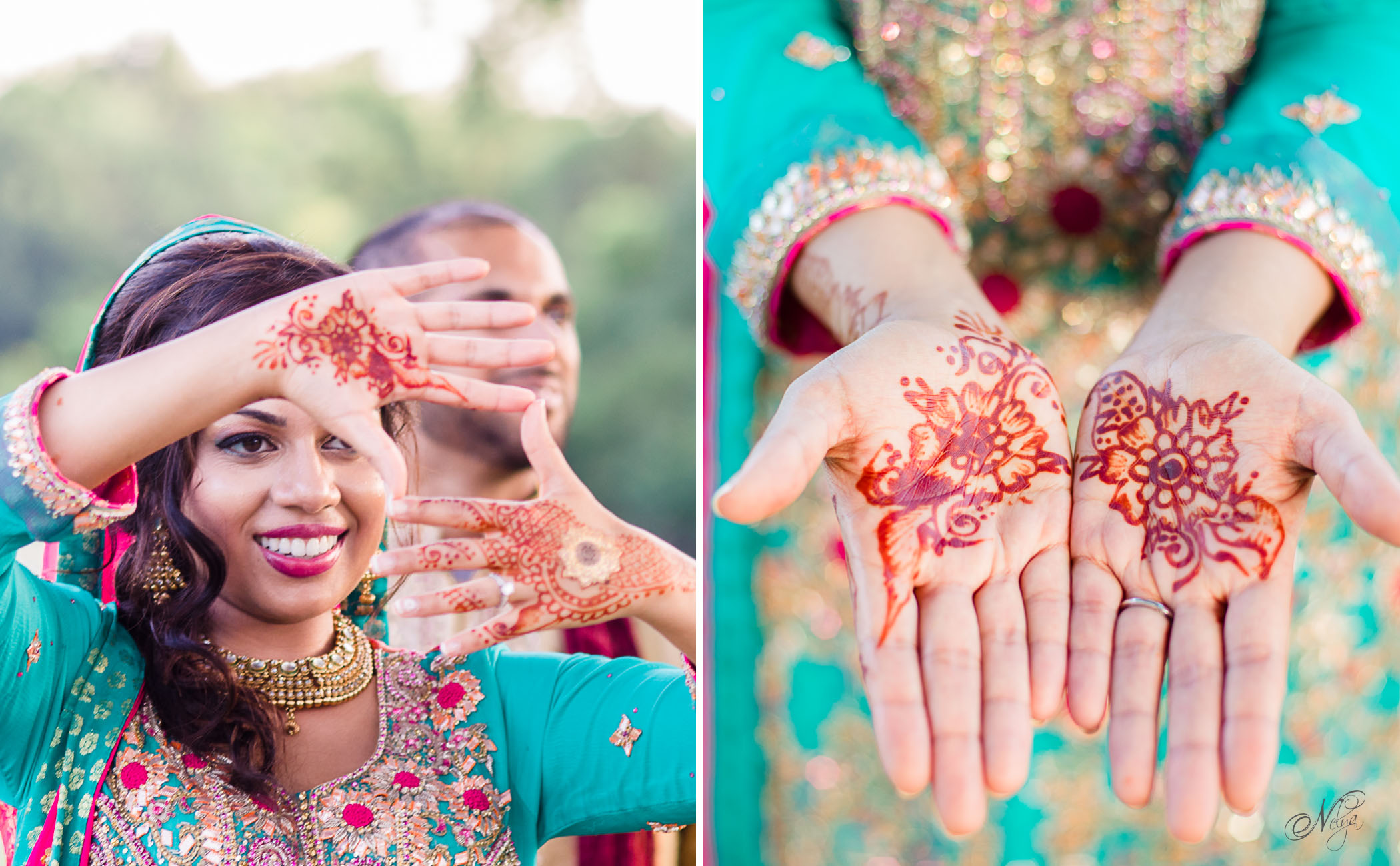 Indin wedding traditions - henna