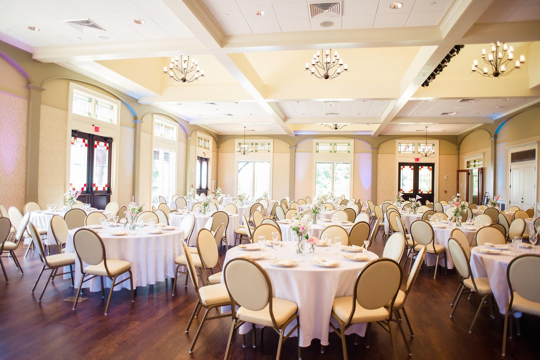 Burritt on the mountain wedding reception
