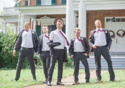 groomsmen giving the GQ look
