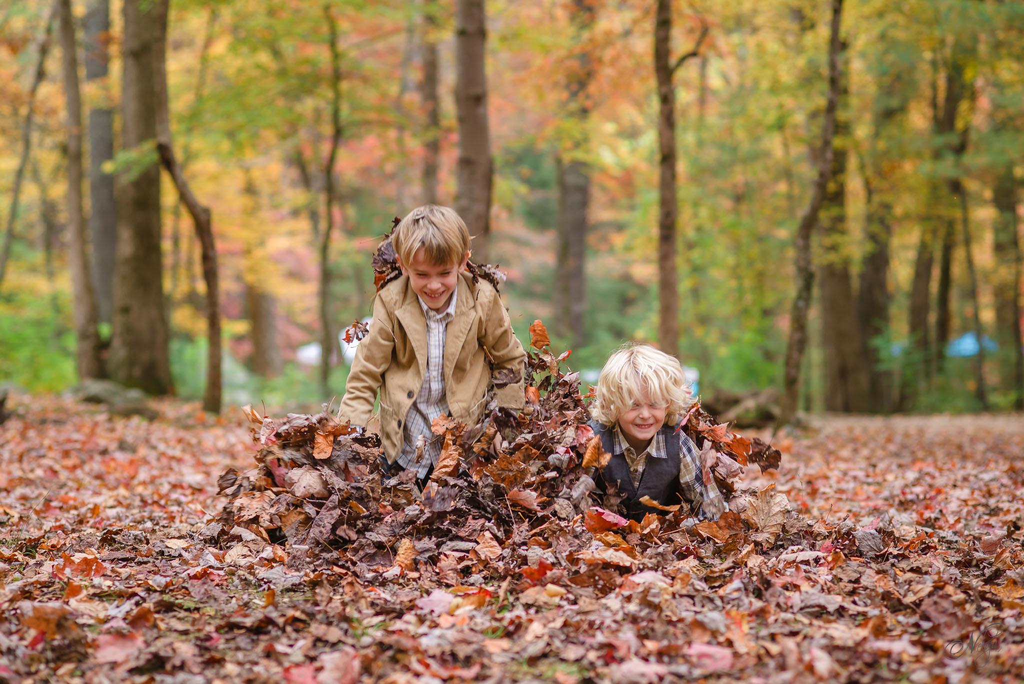 Smoky mountain fall family photos-16