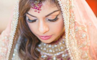 south Asian bride eyes