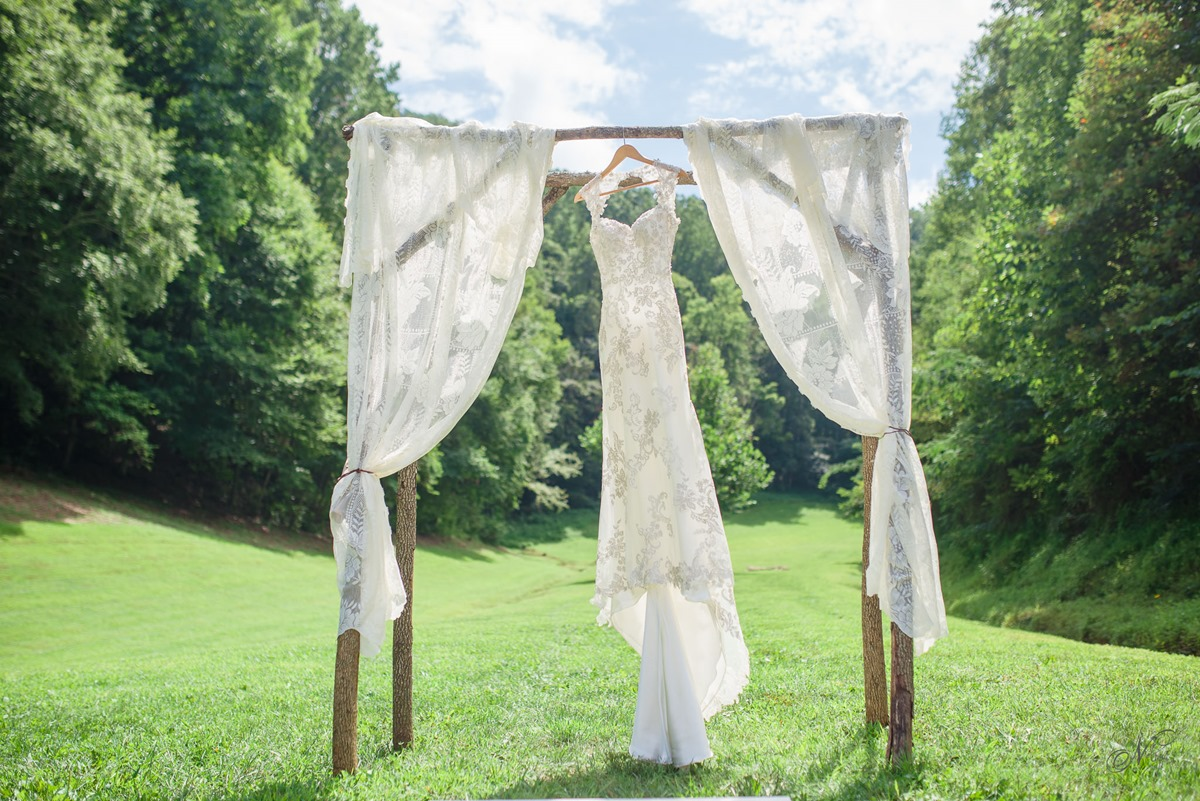 Sevier County TN Barn wedding Angeline + Jeff
