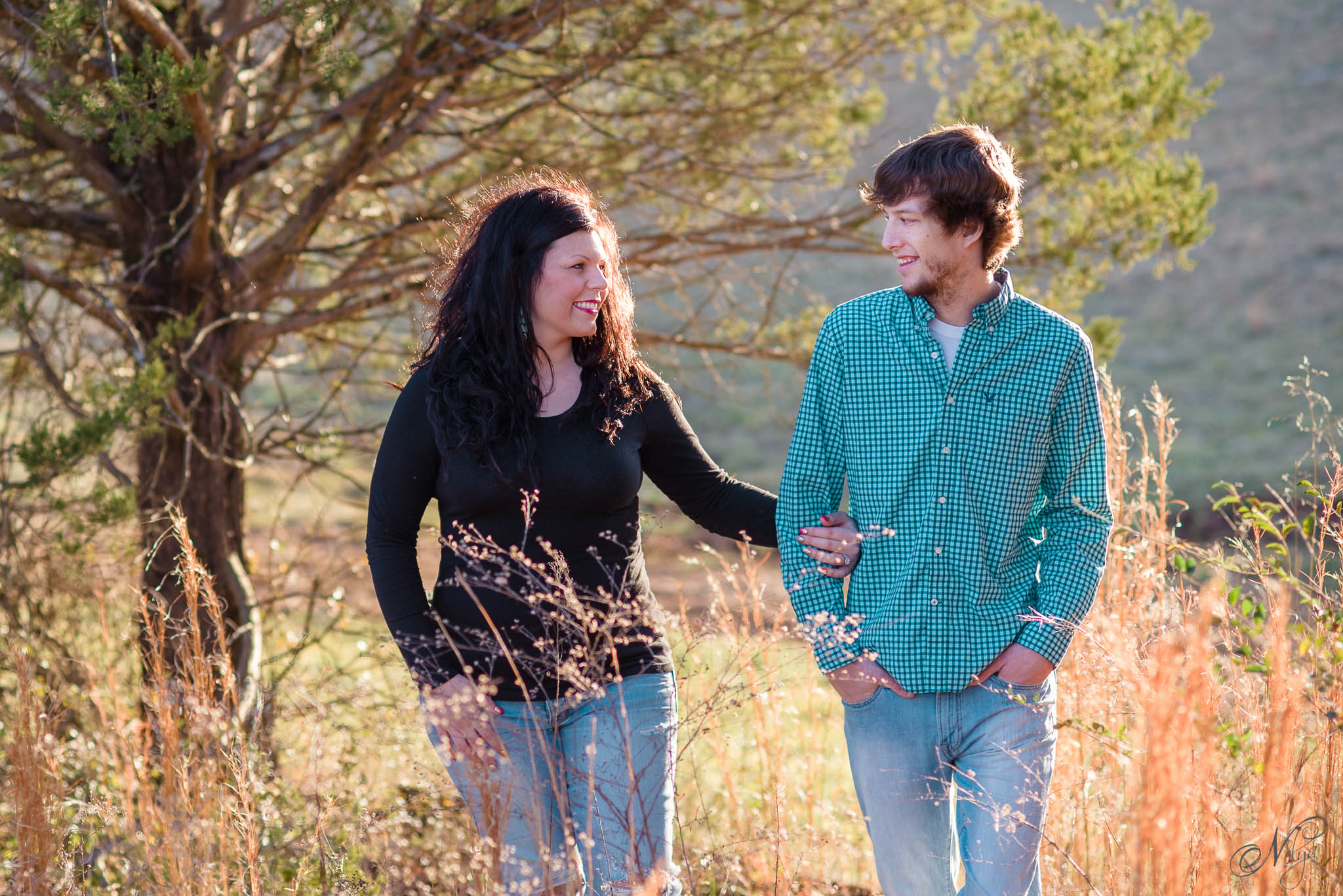 Tsali Notch Vineyard engagement-