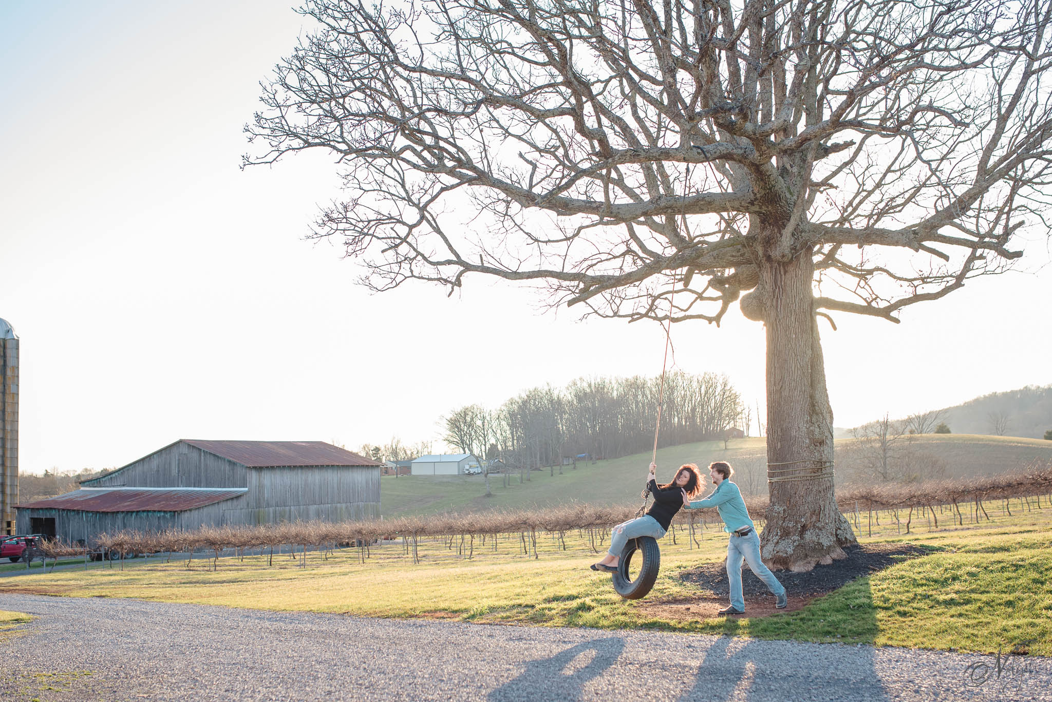 Tsali Notch Vineyard Madisonville TN Engagement: Tiffany + Robert