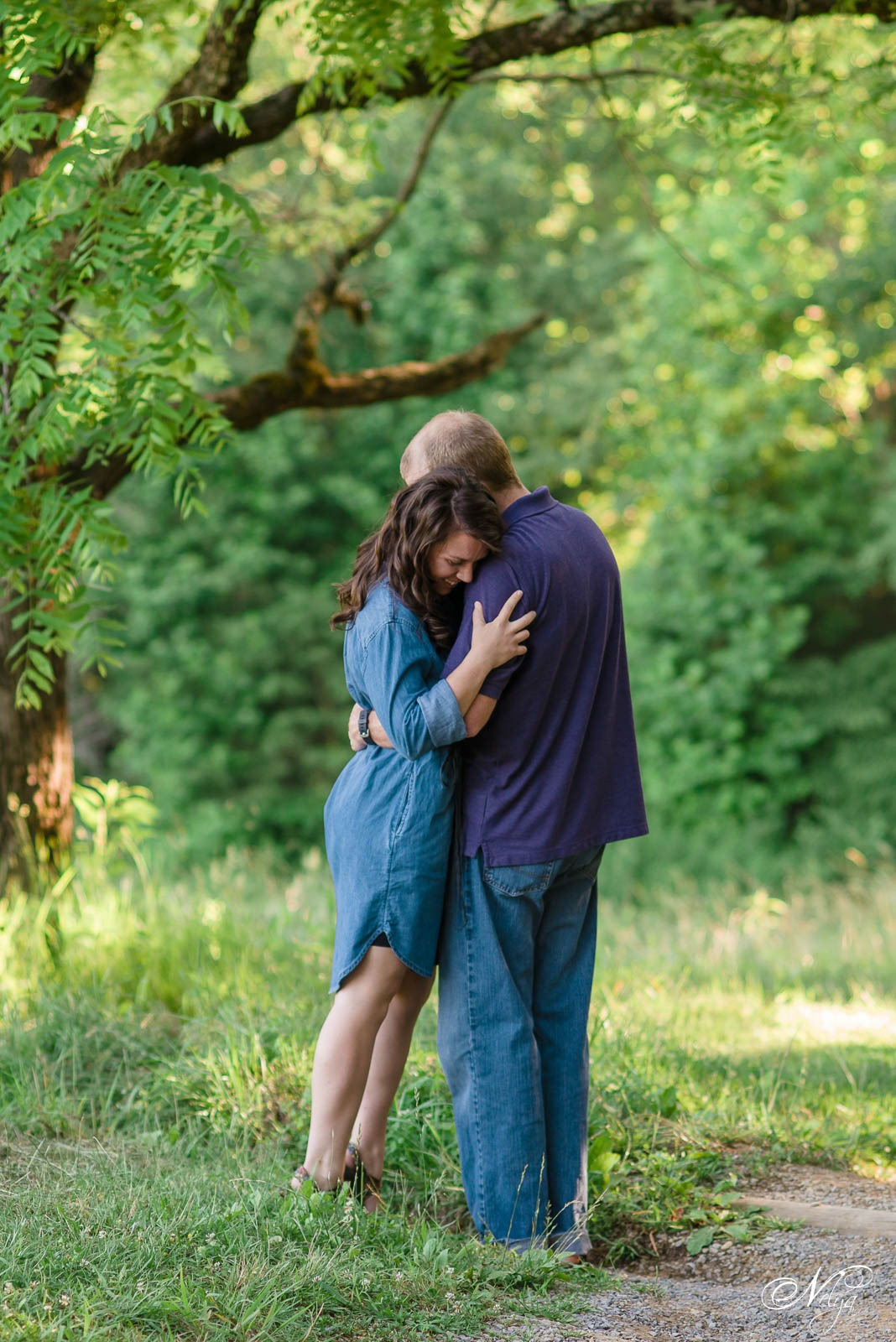 cades cove spring engagement-2480