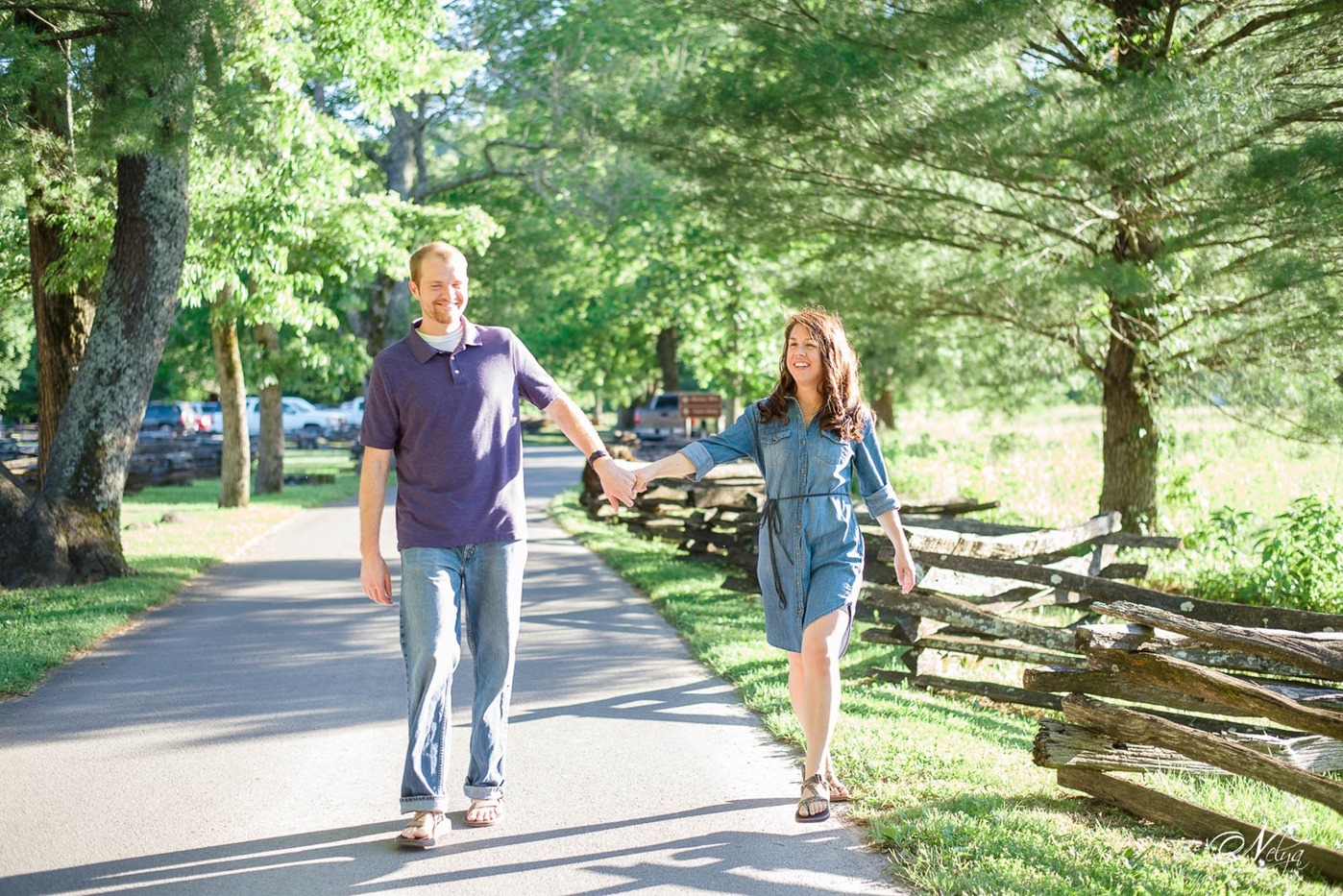 cades cove spring engagement-2550