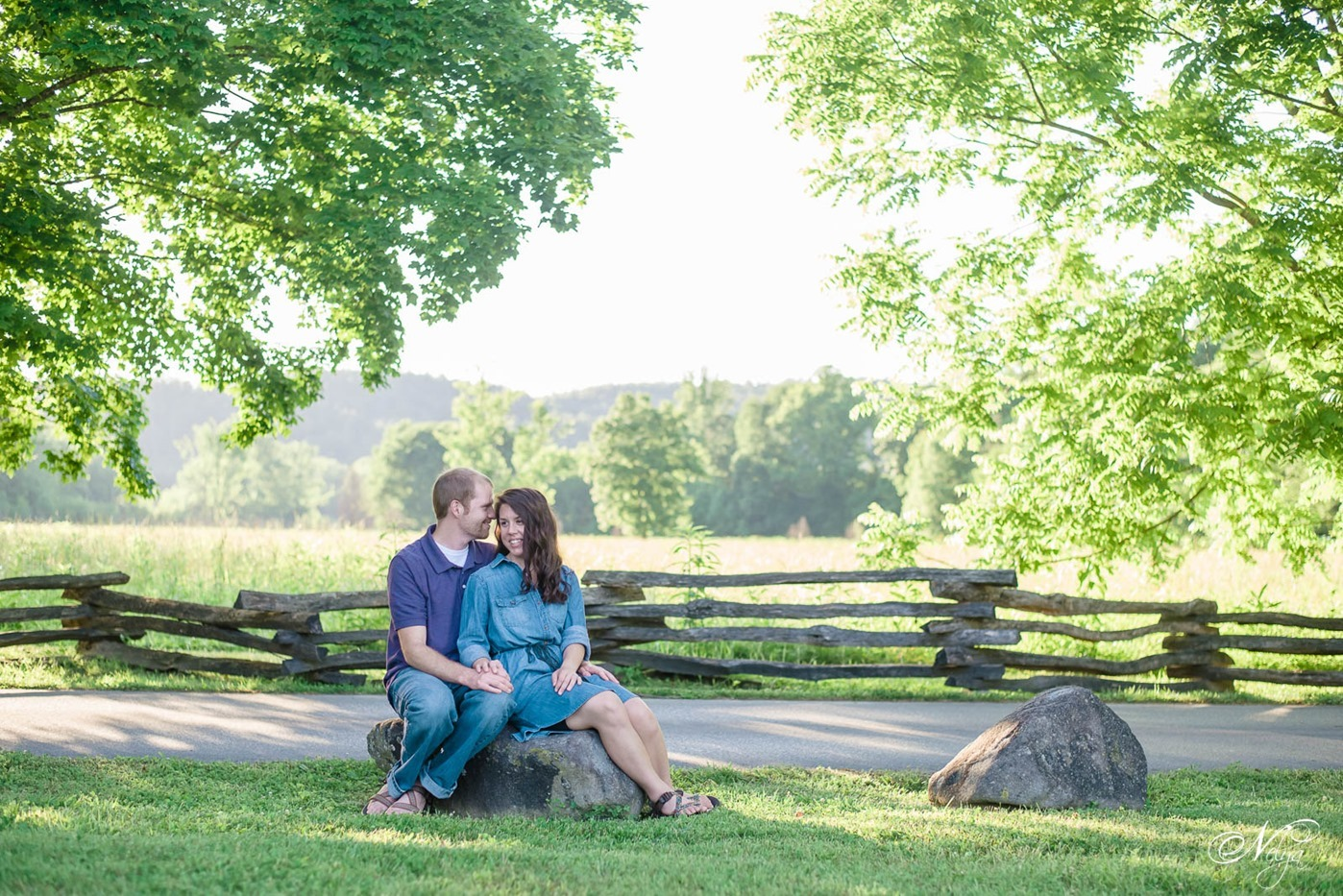 cades cove spring engagement-2639