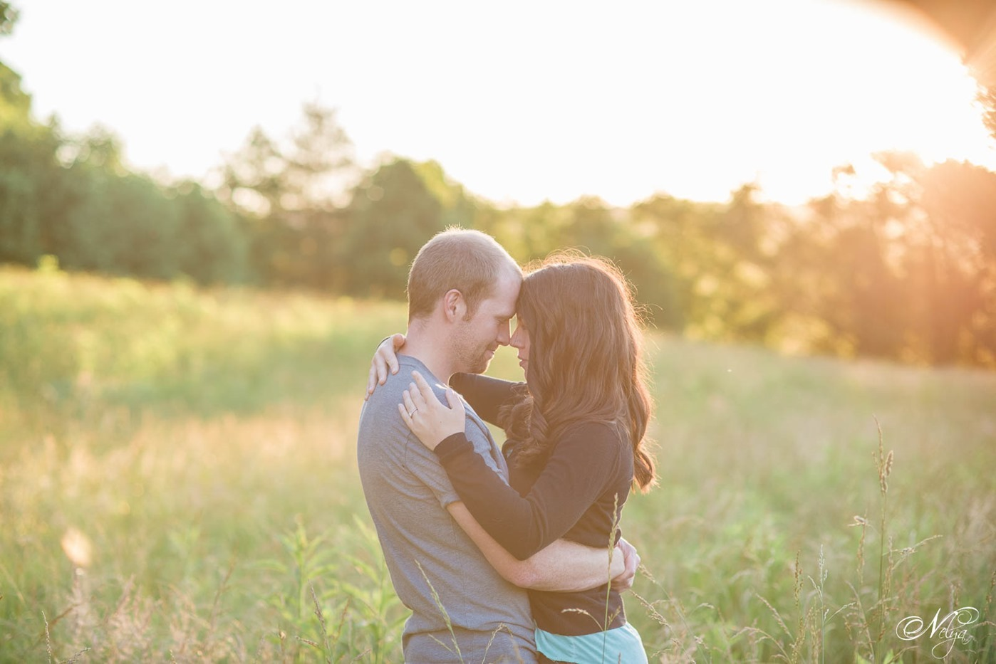 Cade's Cove engagement