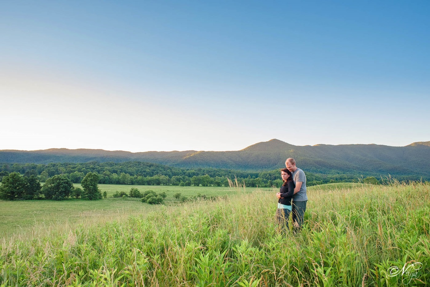 cades cove spring engagement-2705