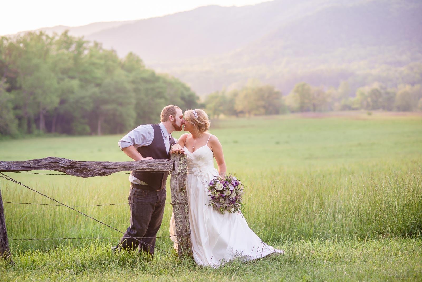Cades Cove TN Wedding | Josh and Jeylan