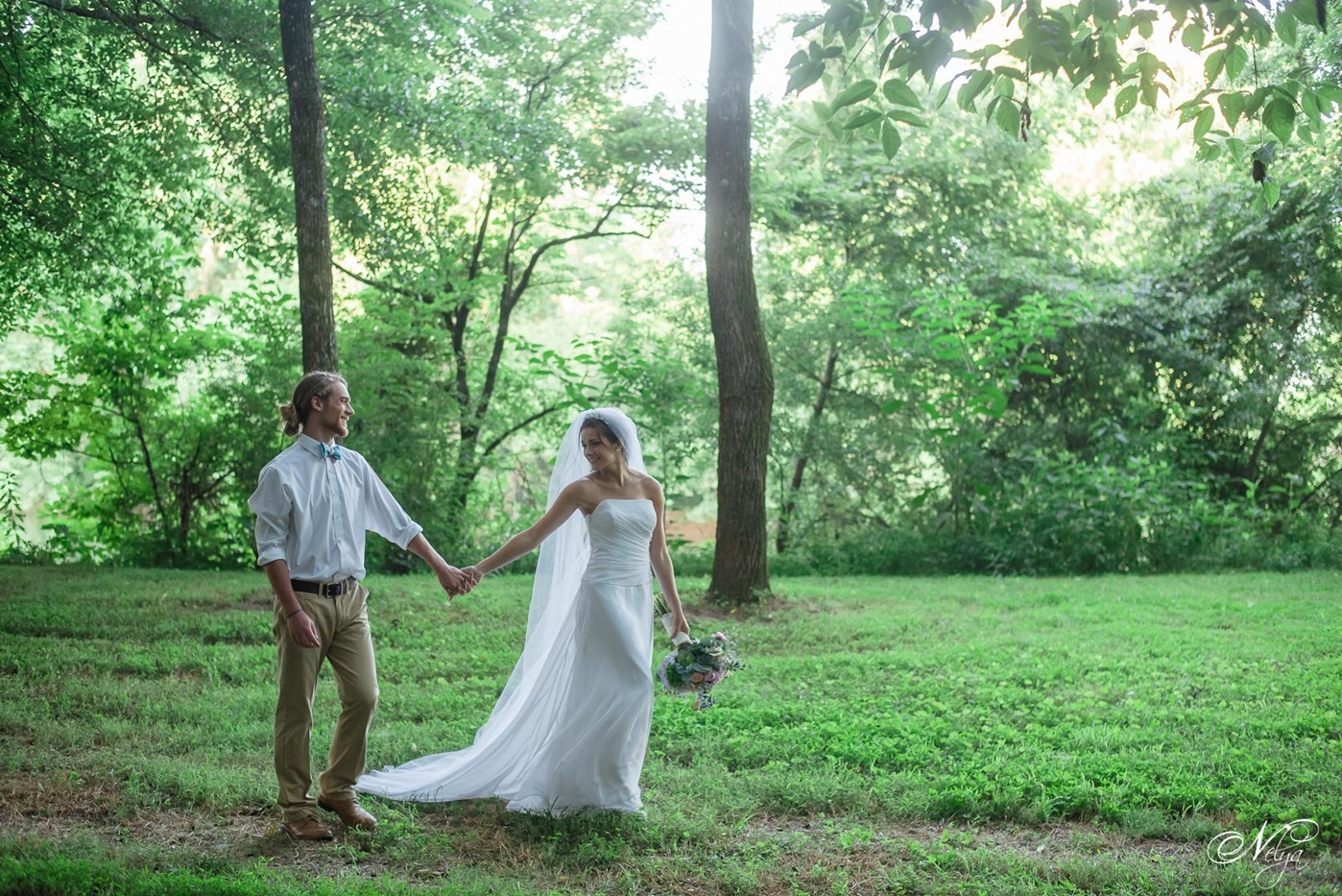 hiwassee river weddings canoe wedding-3994