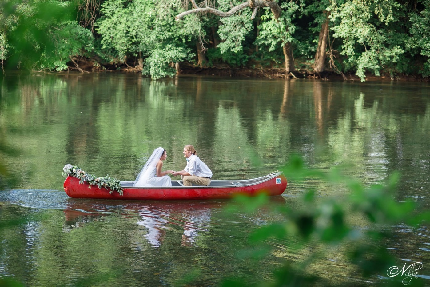 hiwassee river weddings canoe wedding-4157