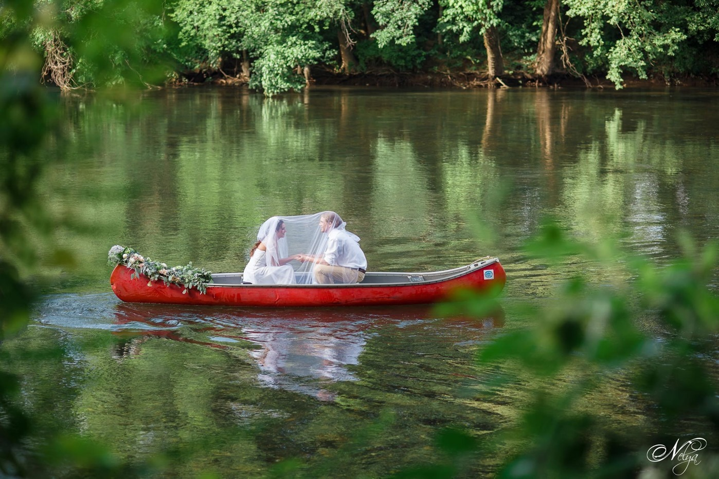 hiwassee river weddings canoe wedding-4161