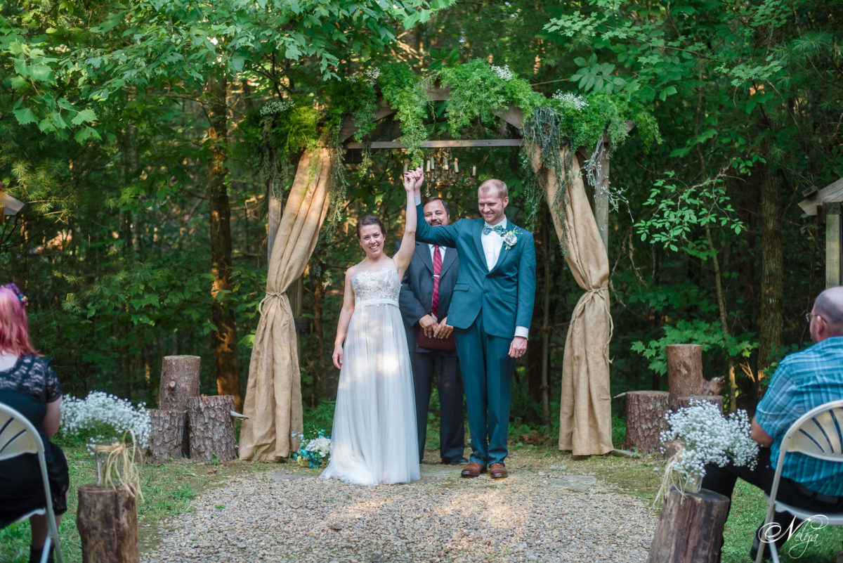 Sampson's hollow wedding