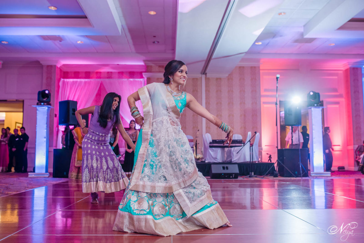 Bride dancing in the griffin gate grand ballroom