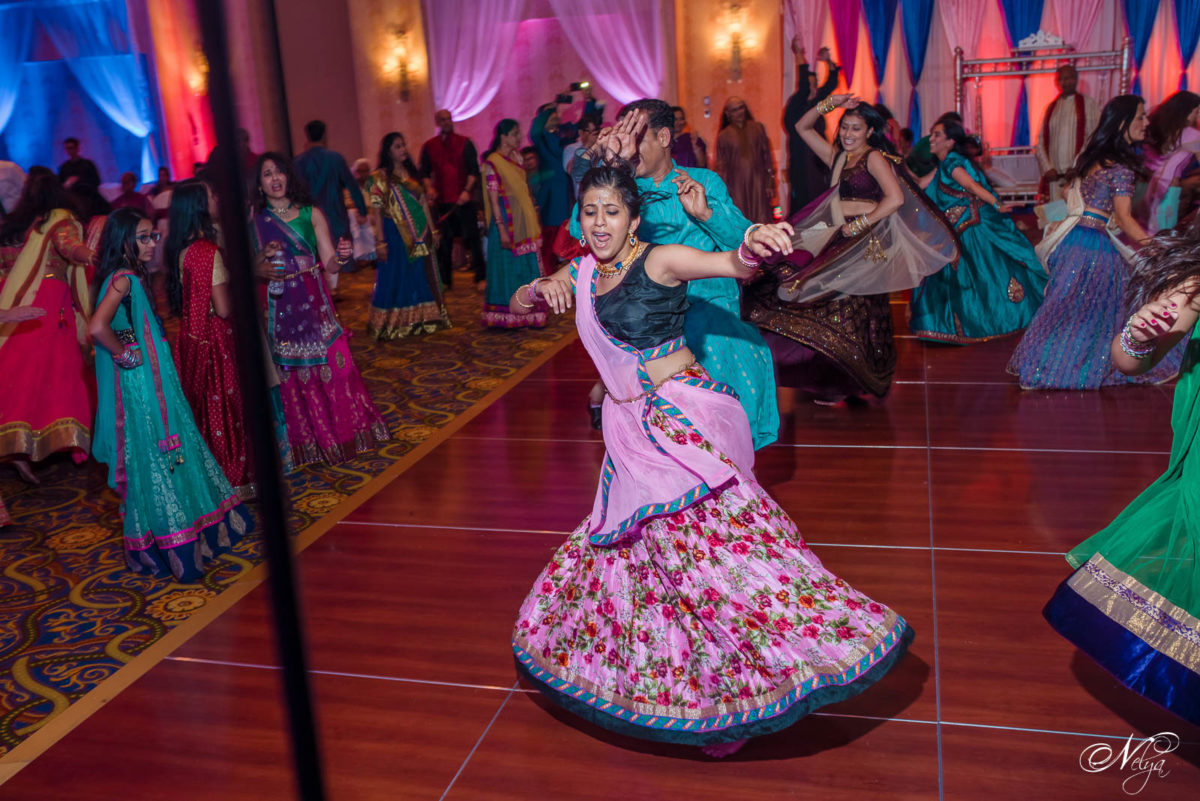 Garba dancing at Griffin Gate Marriott Lexington KY