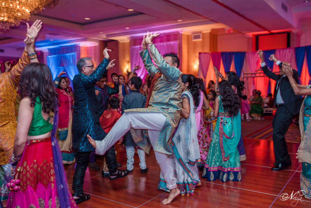 Sangeet dancing at Griffing Gate Marriott Lexington KY