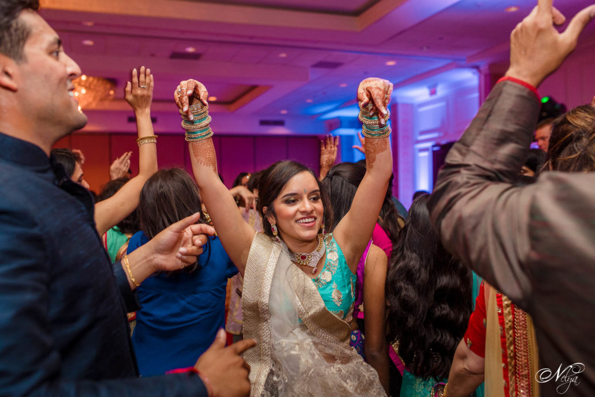 garba dancing at Indian wedding in Lexington KY