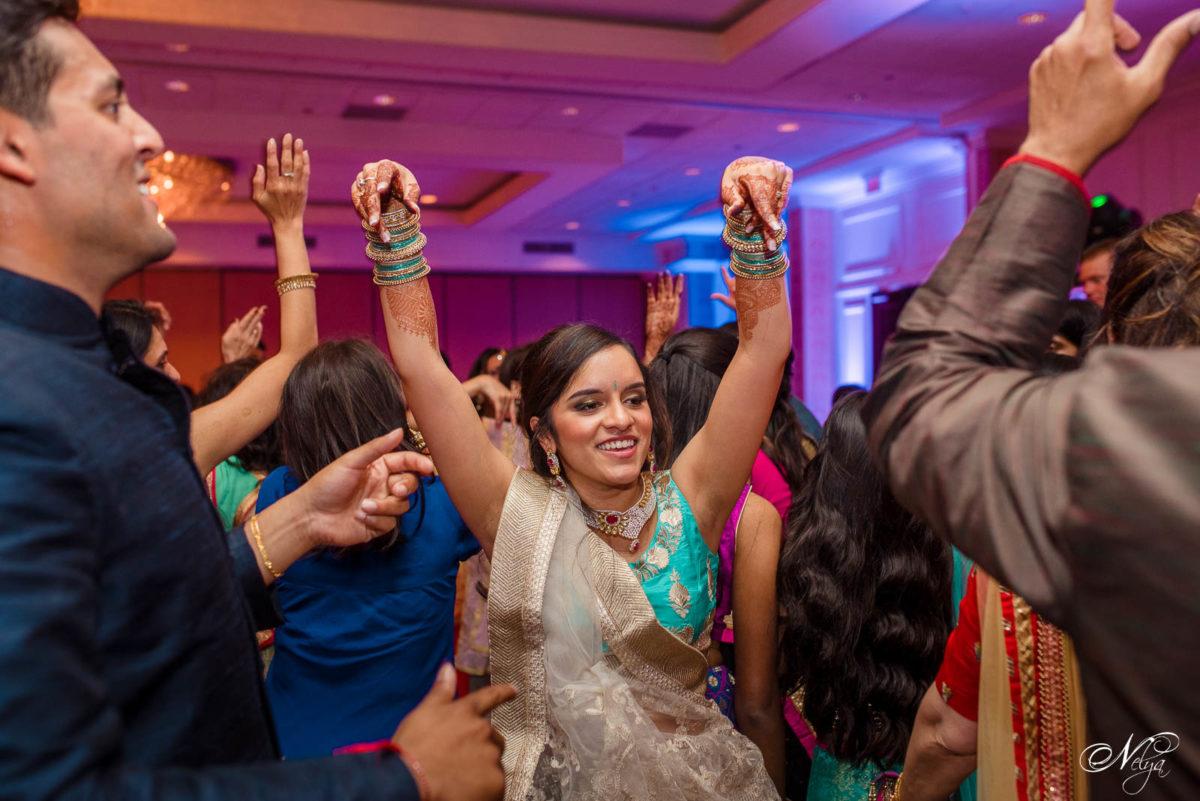 garba dancing at Indian wedding in Lexington KY