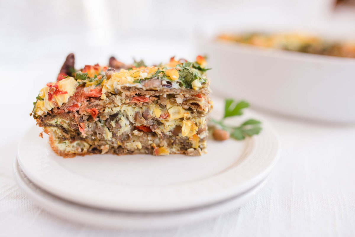 cooked blue corn chip casserole gluten free