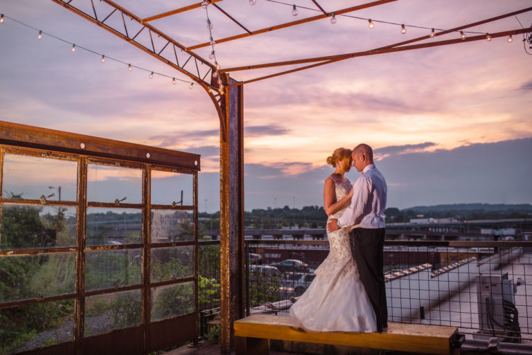 Wedding reception at the Standard in Knoxville TN