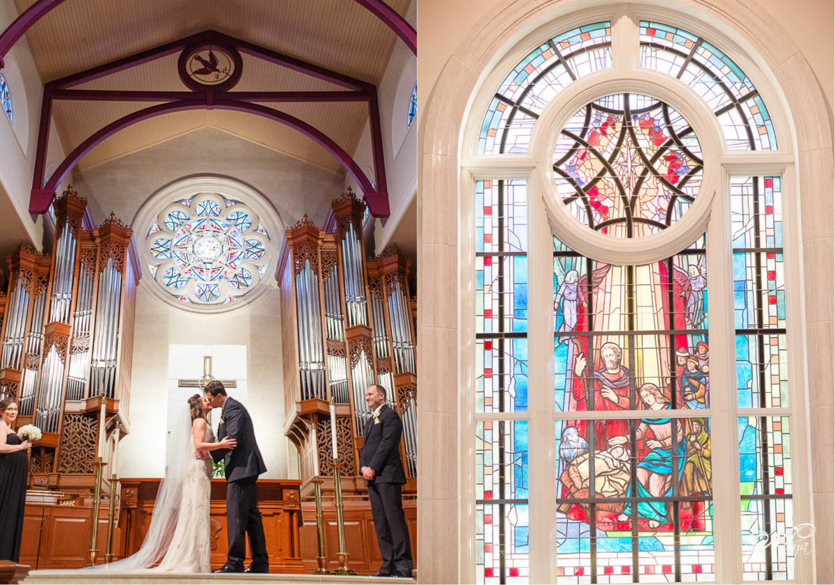peachtree road church wedding in Atlanta