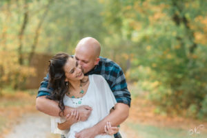 Couple laughing at Hiwassee River Weddings and Events