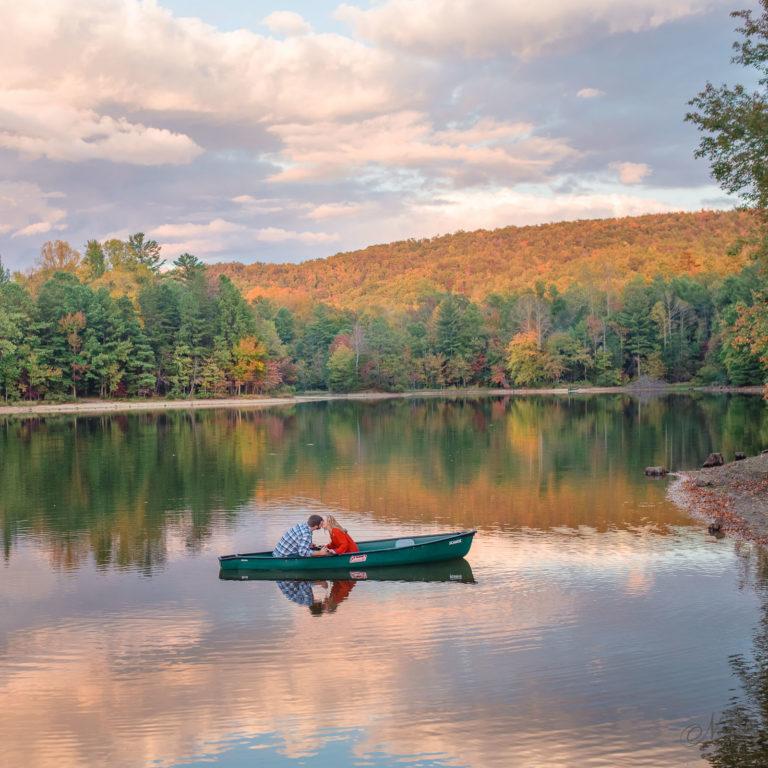 Indian Boundary Lake Canoe Engagement