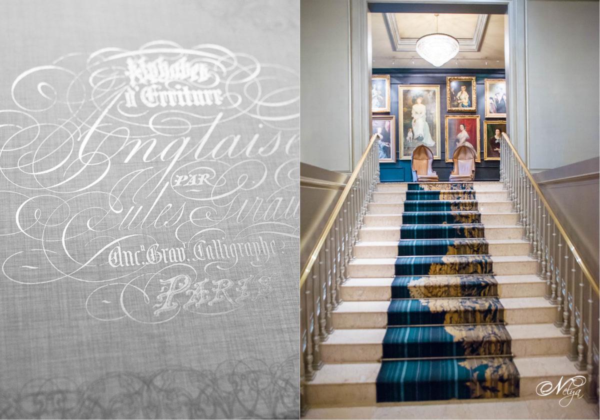stairway at Ritz Carlton in Atlanta GA