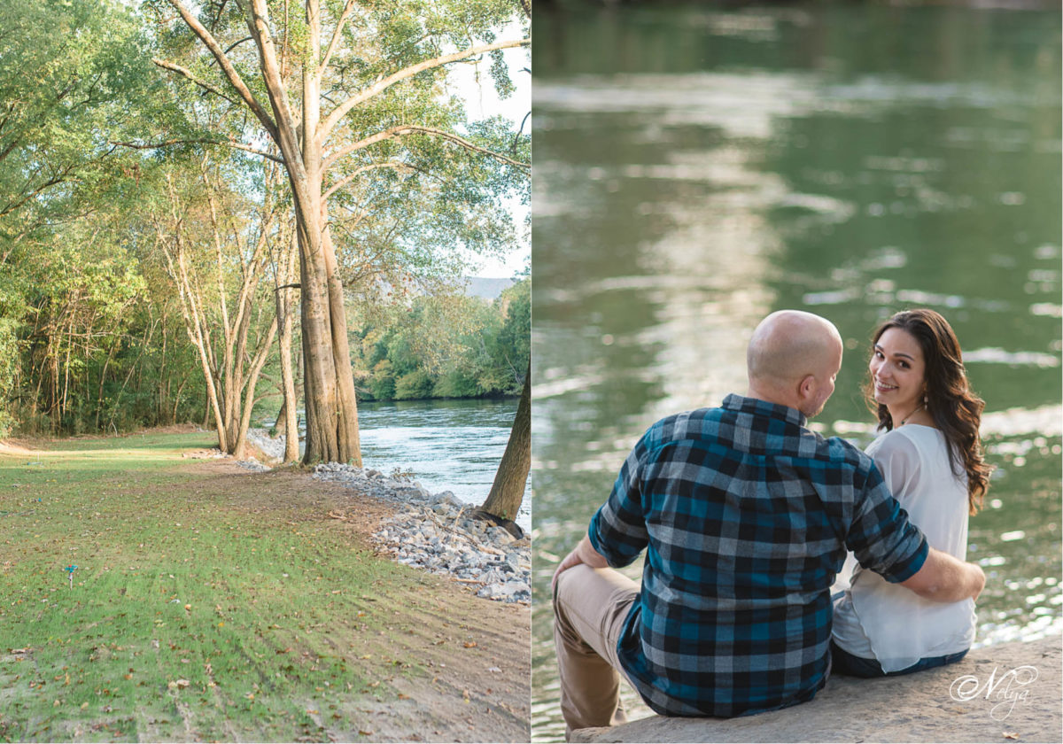 Hiwassee River Weddings Engagement | Chelsea and Nick