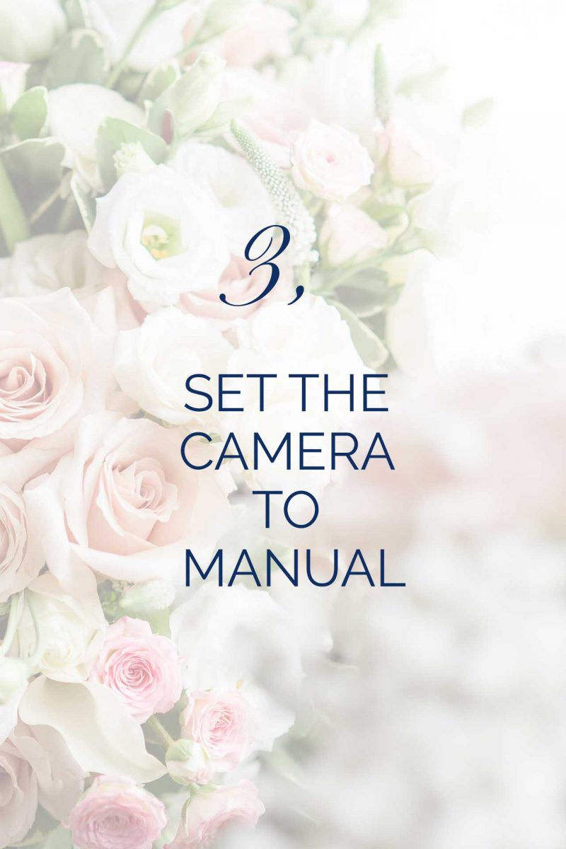 set camera to manual photography tip 3