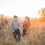 Cades Cove Smoky Mountain Engagement Mink + Eric