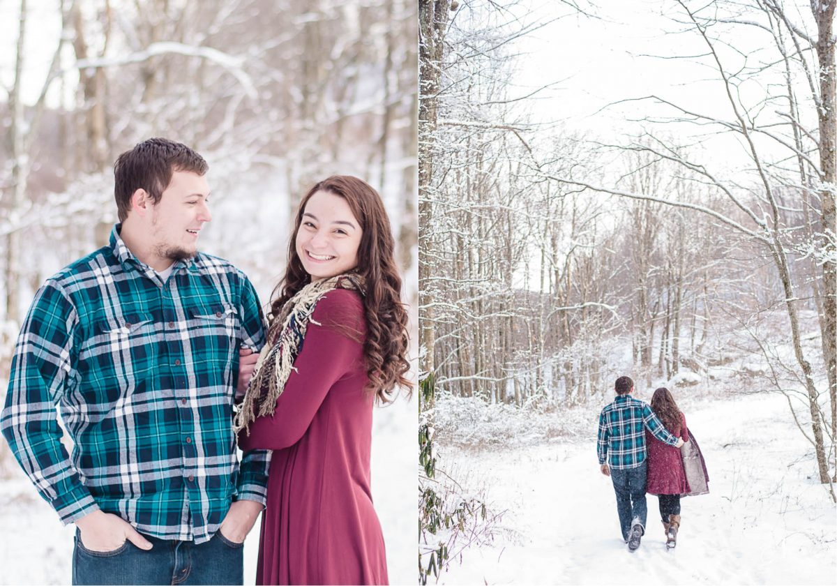 couple-walking-through-snow-on-tennessee-north-carolina-state-line
