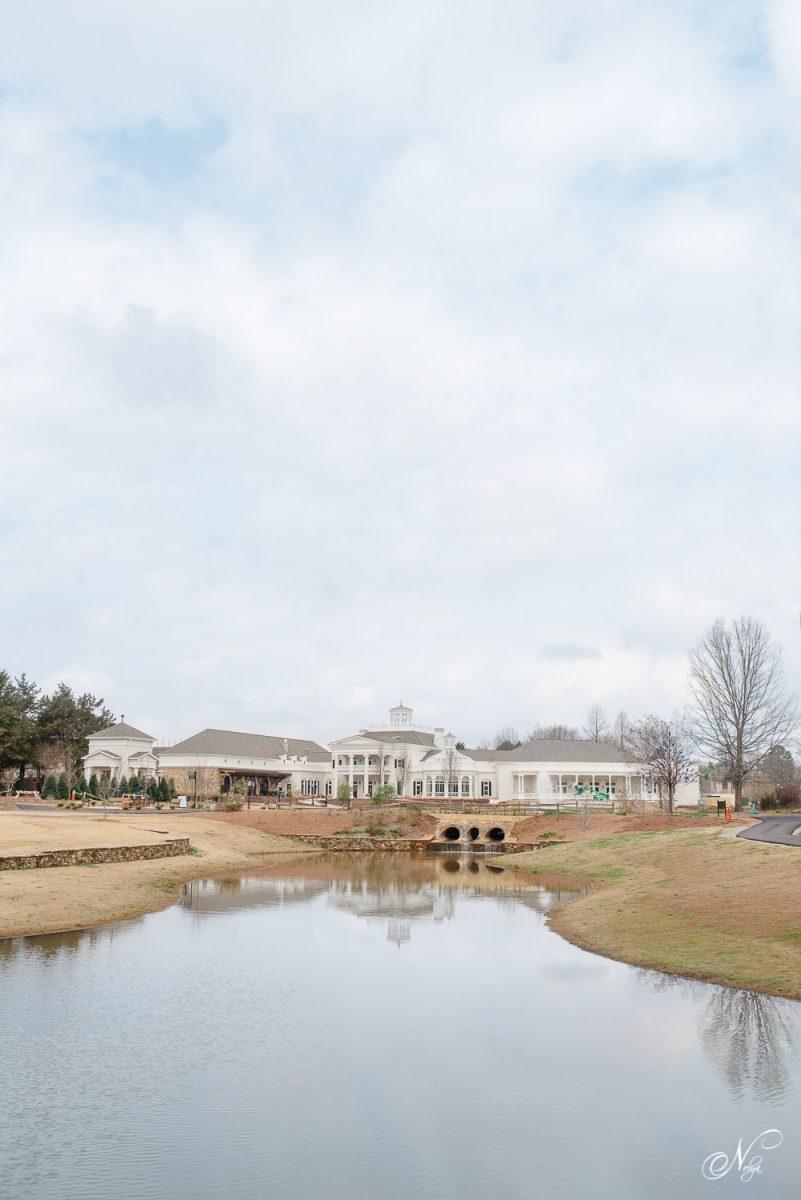 Huntsville AL Botanical Garden building reflection