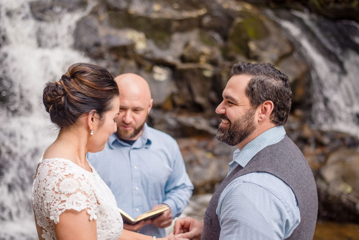 elopement at laurel falls