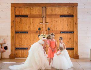 FLOWED GIRLS IN FAIRY TALE PRINCESS FLOWER GIRLS DRESSES