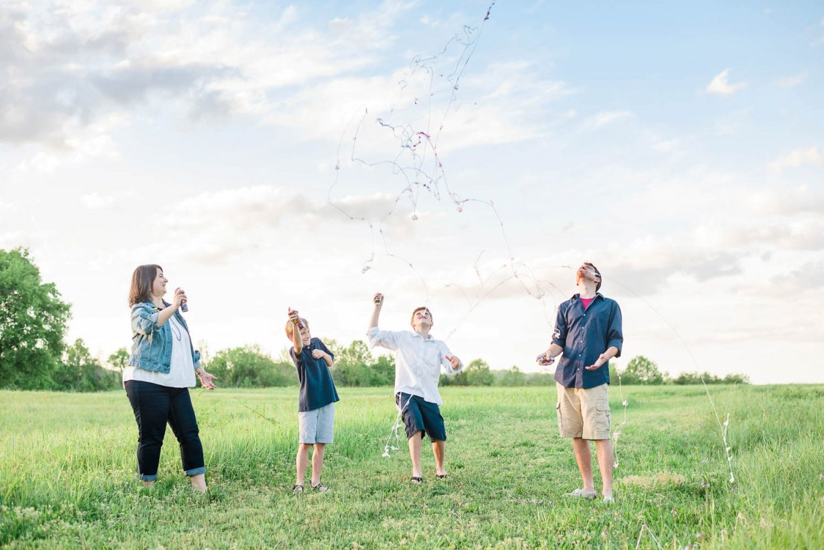silly string family fun