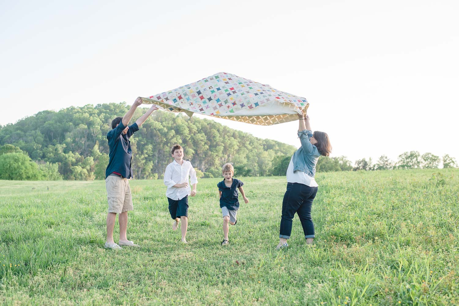 Melton Hill Lifestyle Spring Family Photos